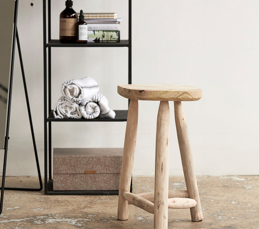 Stools and poufs