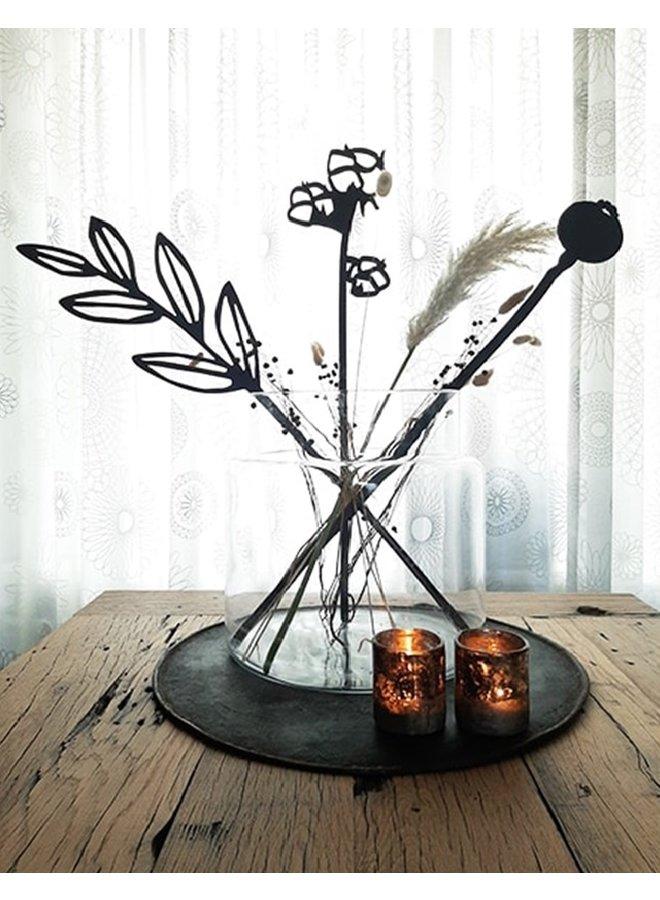 Wooden flower Papaverbol