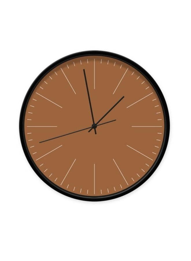 Clock Cinnamon with stripes