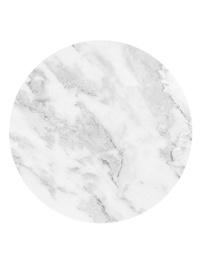 Wall Circle Marble white