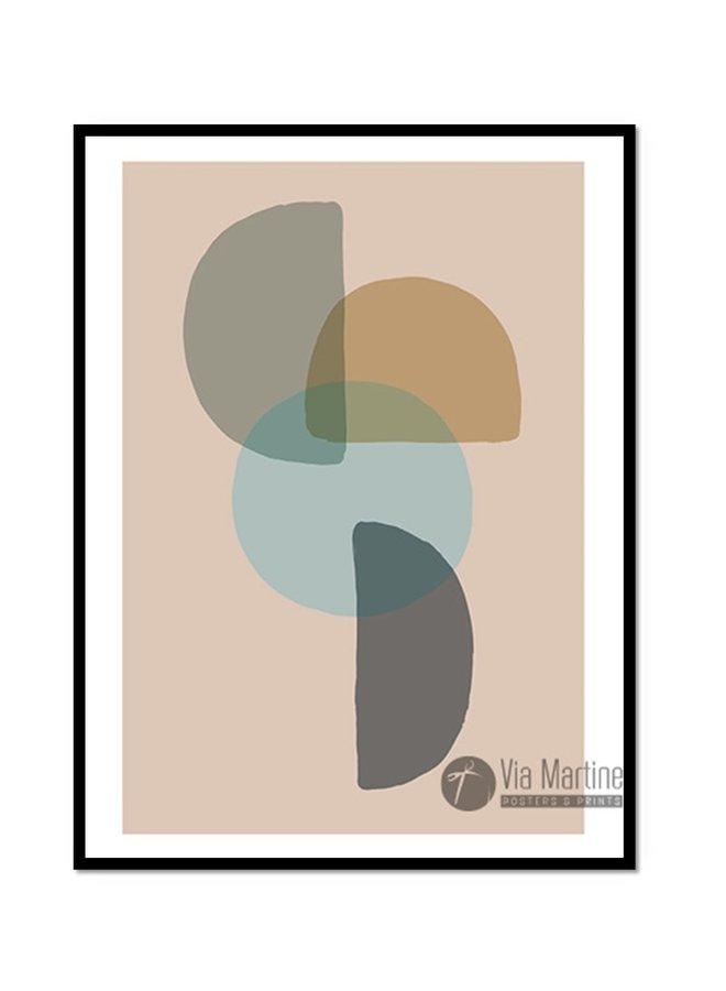Poster illustratie print Diabolo kleur