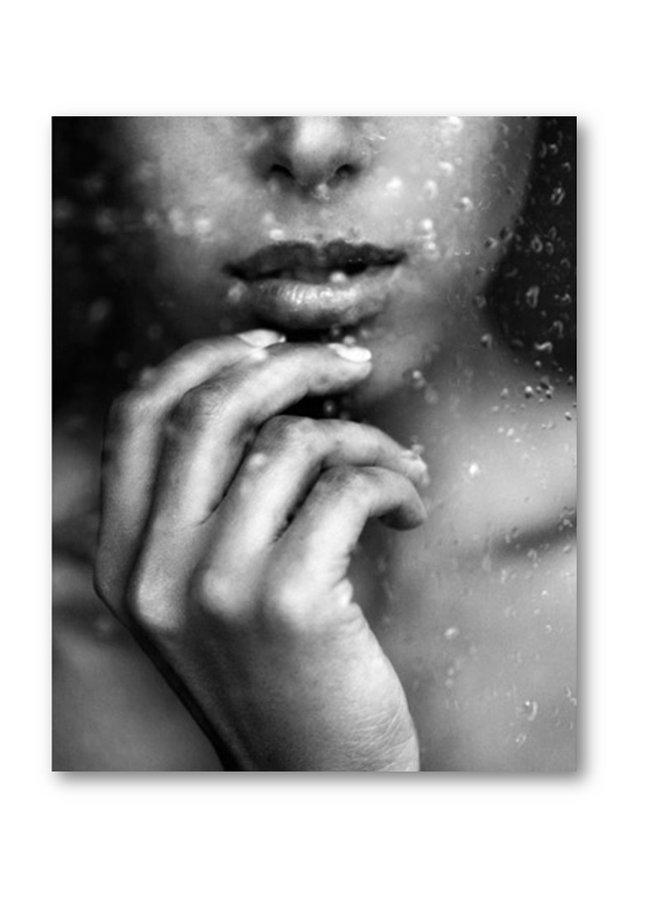 Poster Woman Rain
