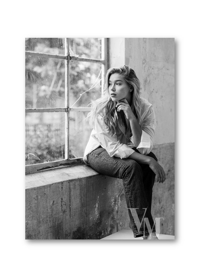 Poster Woman Window