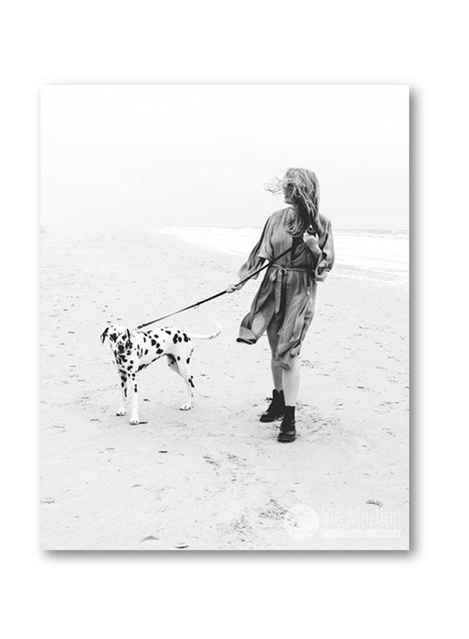 Poster Woman Dots