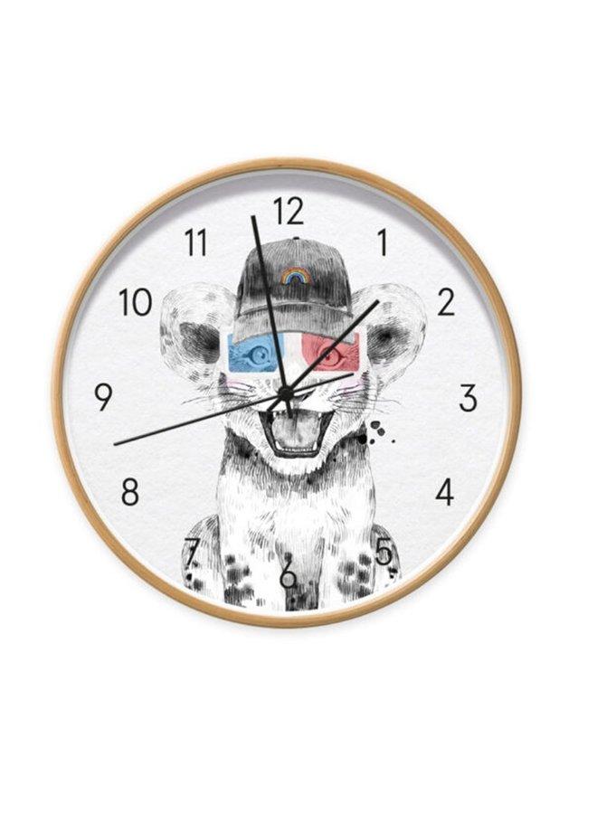 Children's clock Baby Lion boy