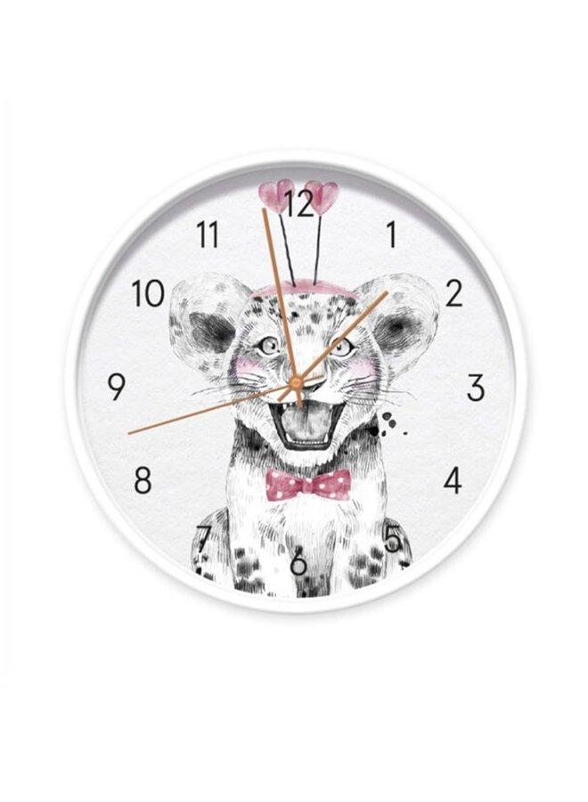Clock Baby Lion girl