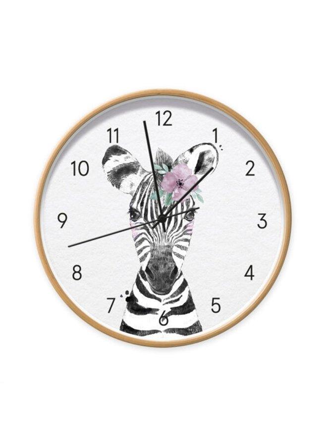 Children's clock Baby Zebra