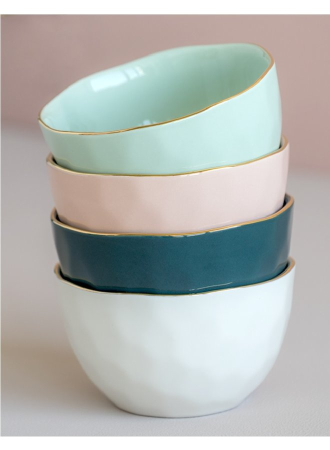 Good Morning Cup bowl green blue
