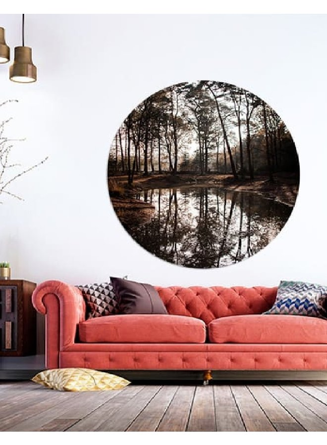 Wall Circle Forrest Ese