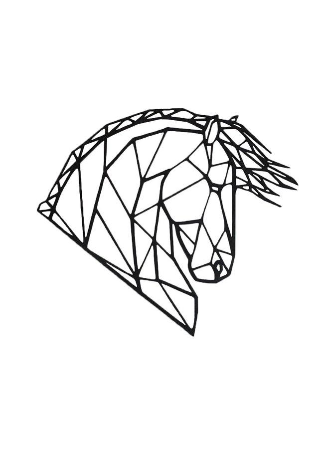 Wooden wall decoration Frieze horse