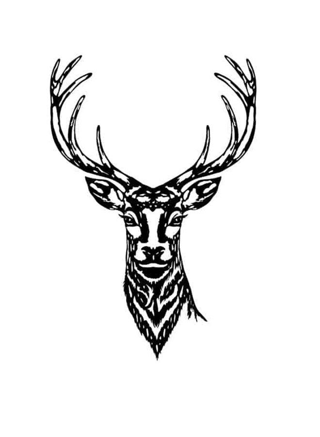 Wooden wall decoration Deer (new)