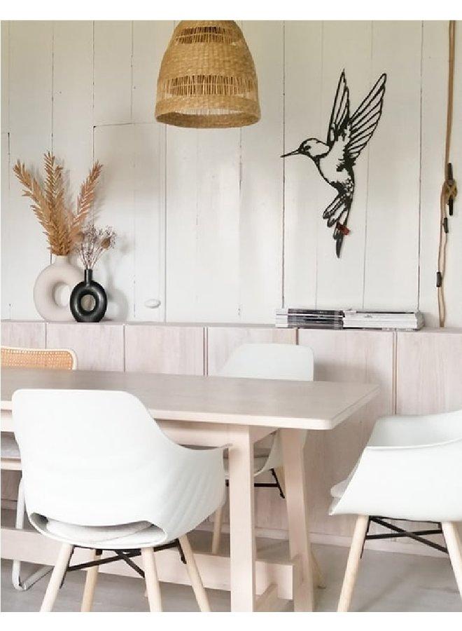 Wooden wall decoration Hummingbird (new)