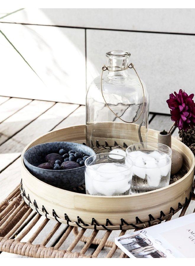 Lantaarn  glas Frej  | 25cm