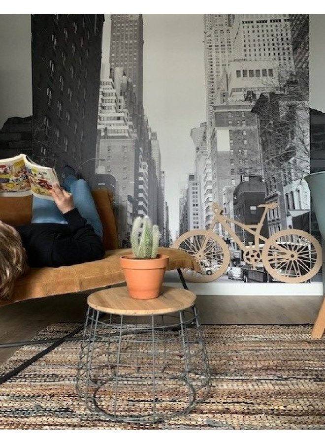 Wooden wall decoration  Mountain Bike