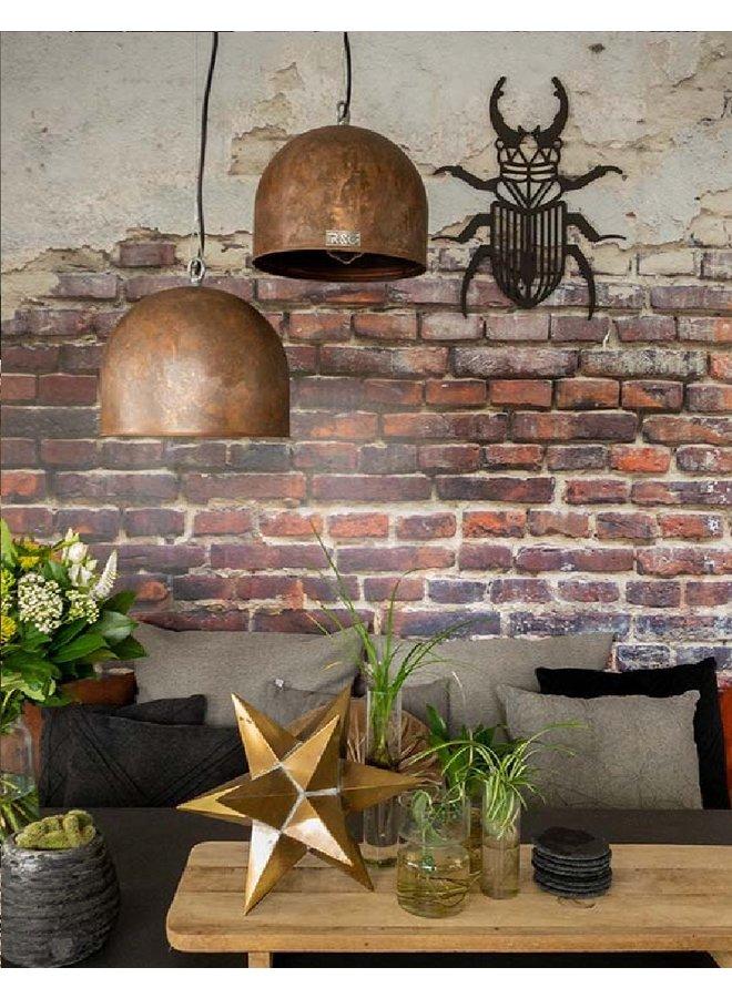Houten wanddecoratie Kever