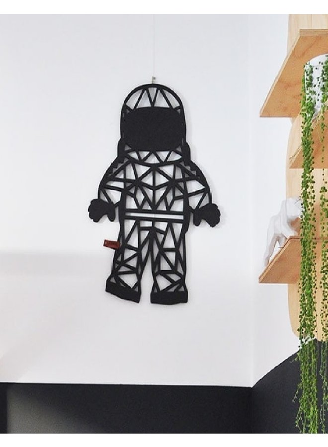 Wooden wall decoration Astronaut