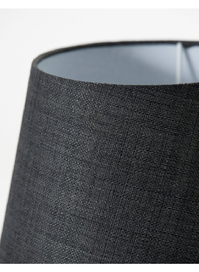 Table lamp incl. lamp shade, Orga, Grey