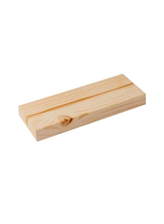 Muurcirkel standaard hout naturel | 15cm