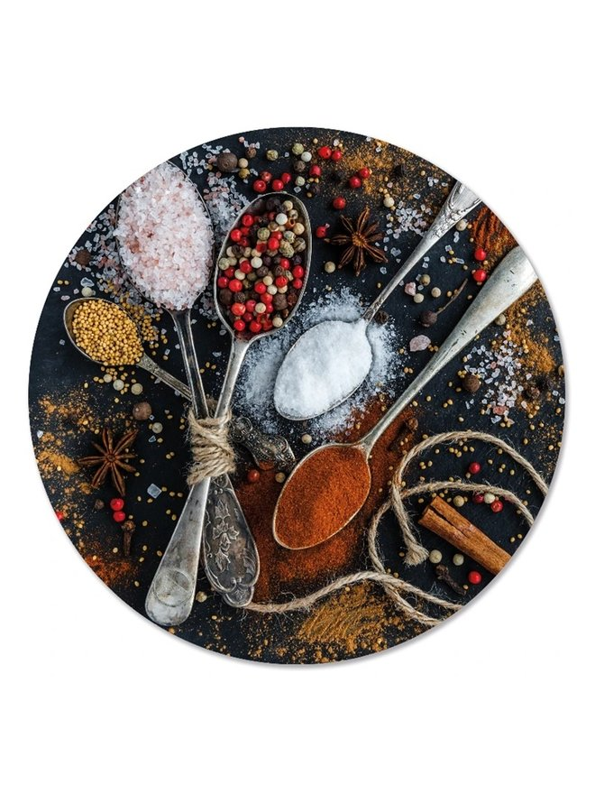Wall circle spices