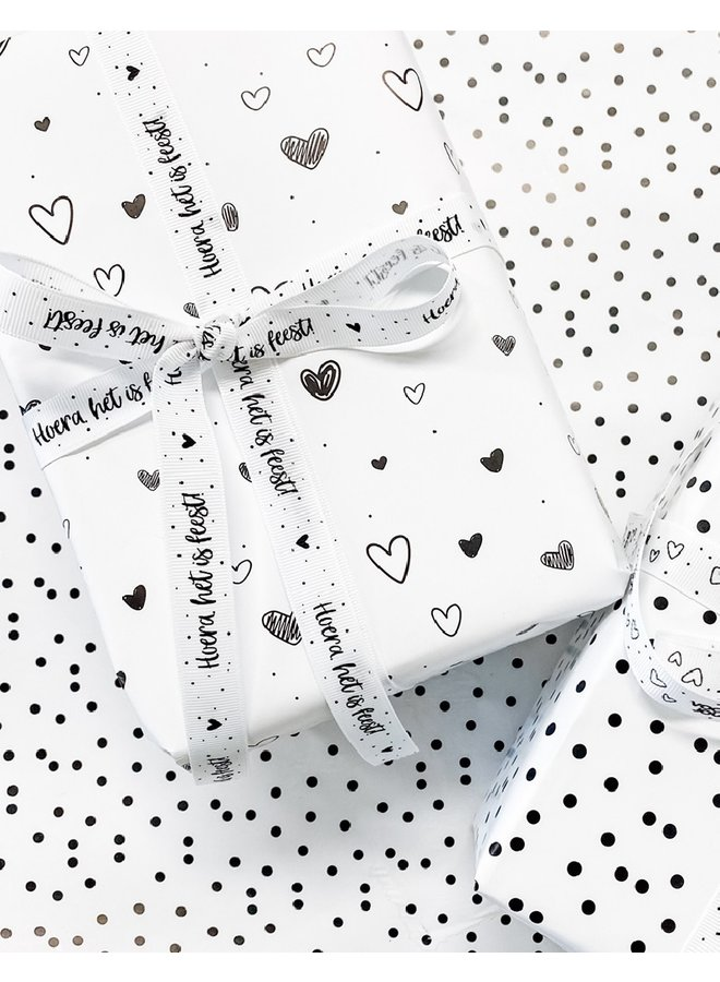 Wrapping paper | hearts
