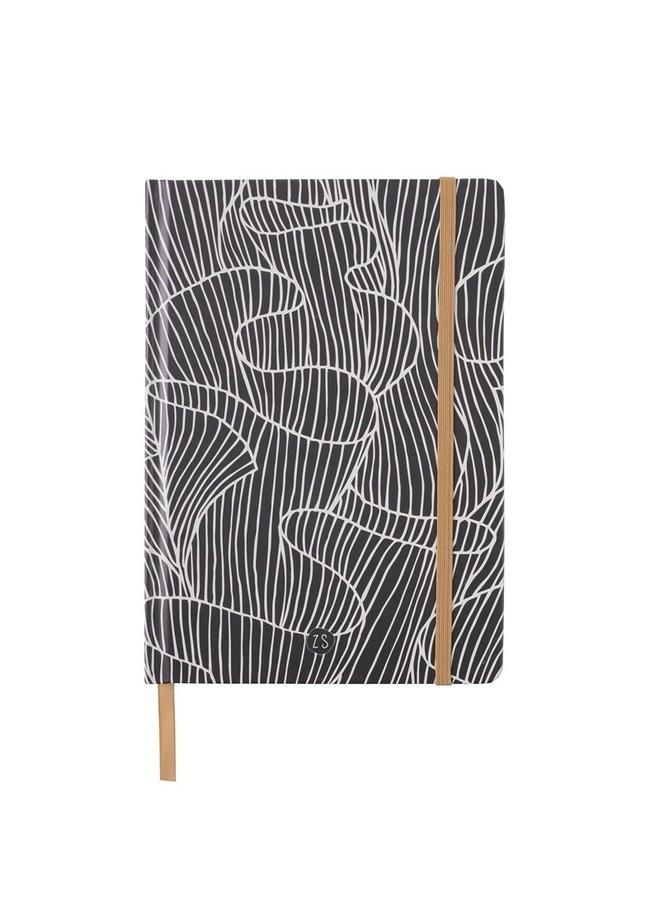 Notebook coral reef print sand