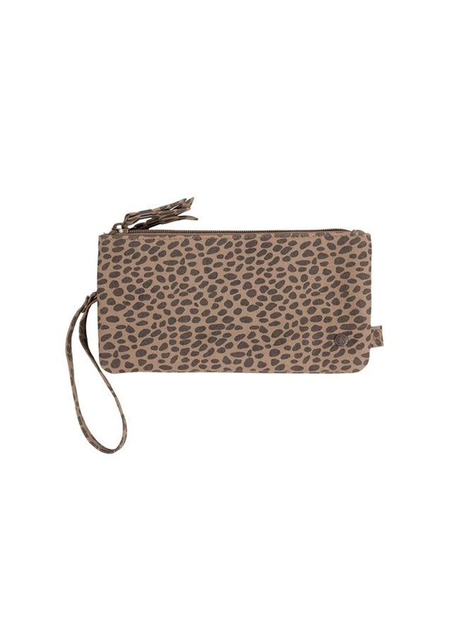 Double purse sand speckled