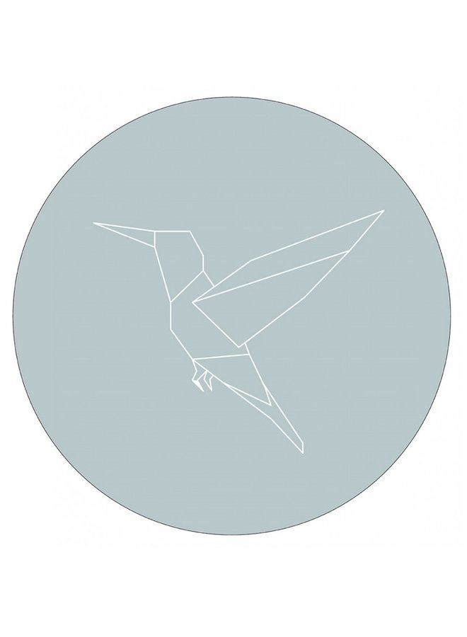 Muurcirkel  kolibri zeeblauw