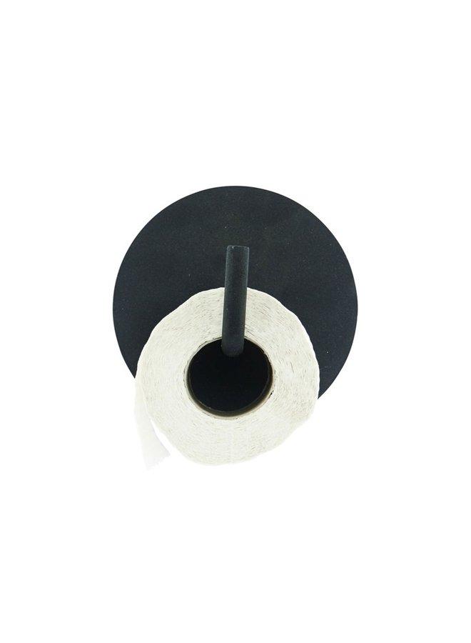 Toilet Paper Holder Text, black