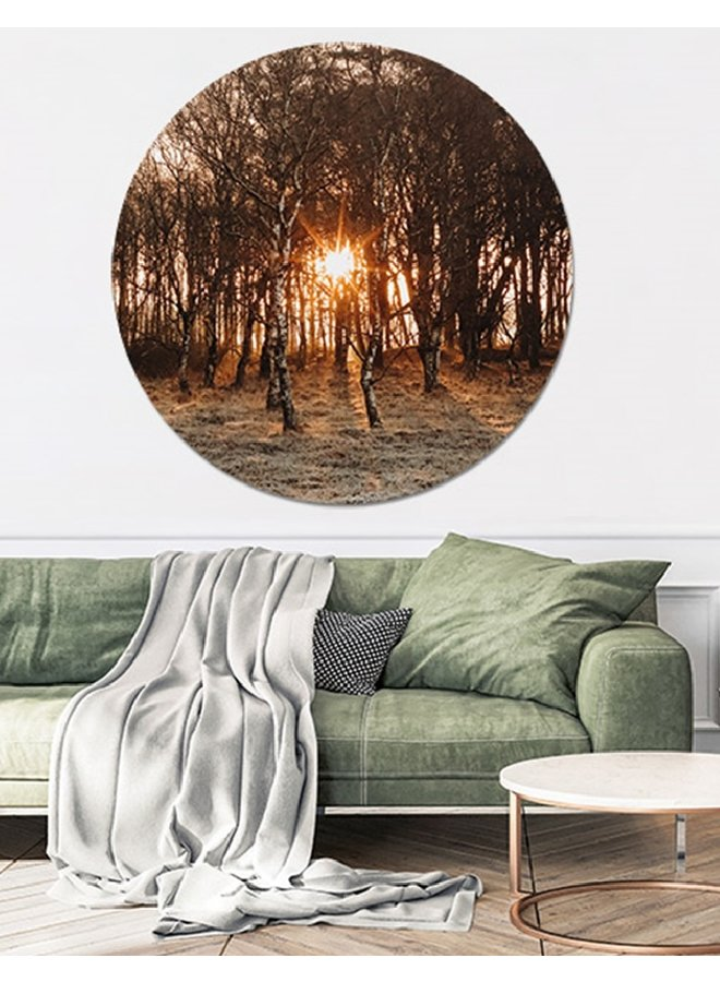 Wall Circle Into the woods