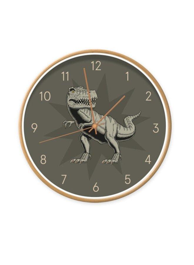 Children's clock  Dino T-rex