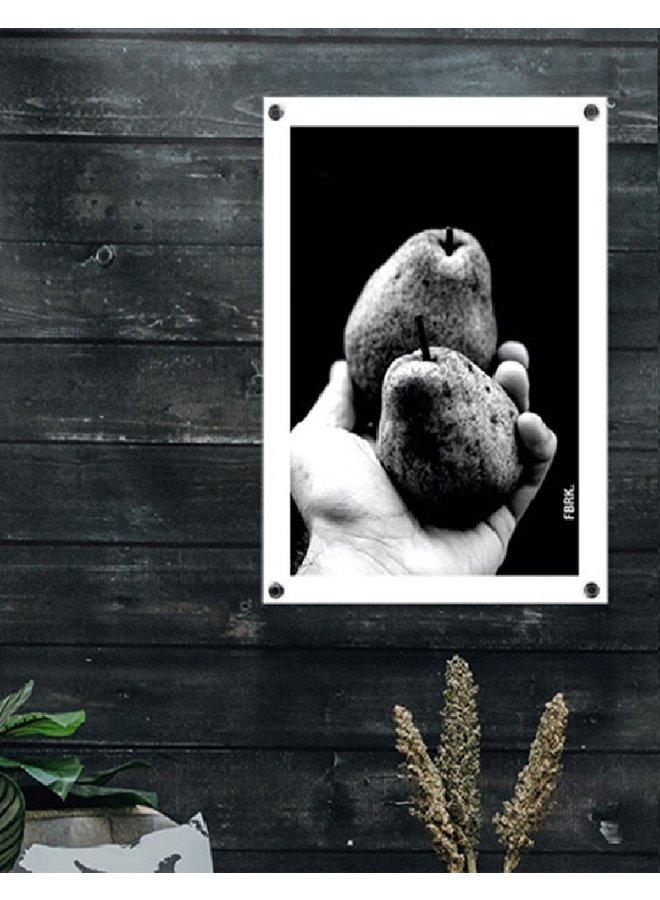 Outdoor poster pear