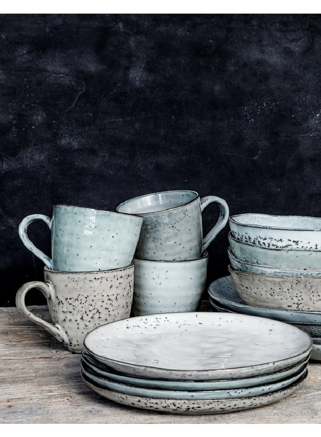 Mug Rustic grey blue