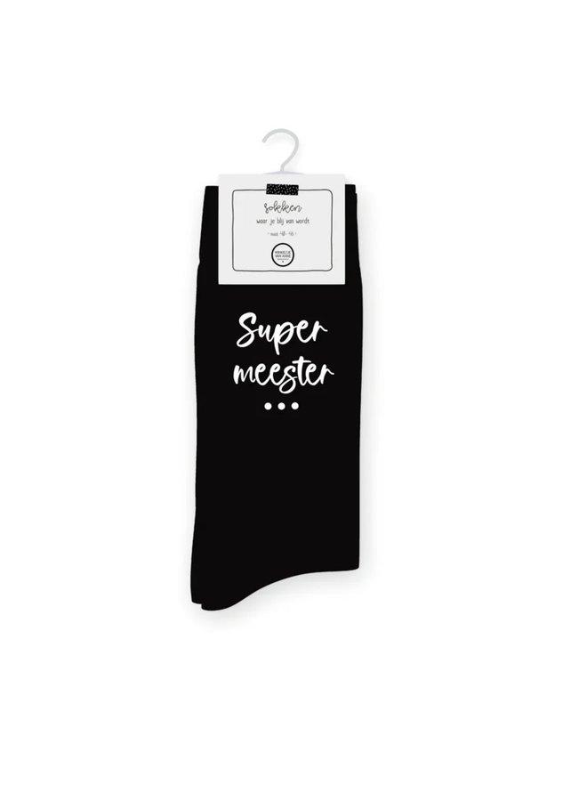 Sokken | Super meester