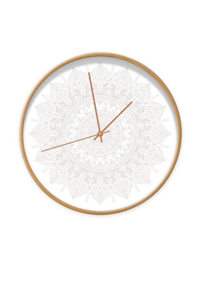 Clock mandala wit