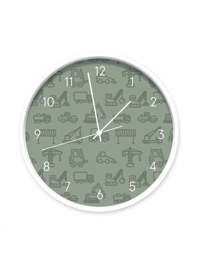 Clock Vehicles dark green