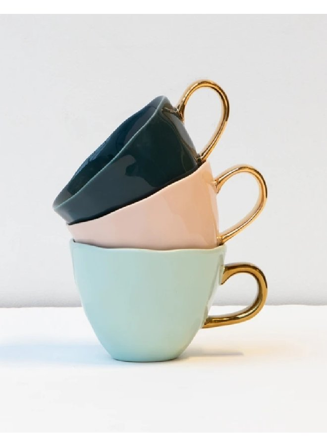 Good Morning Cup, blue green
