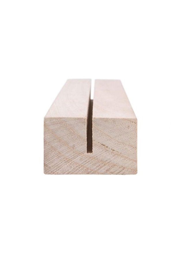 Wooden standard, nature | 22cm
