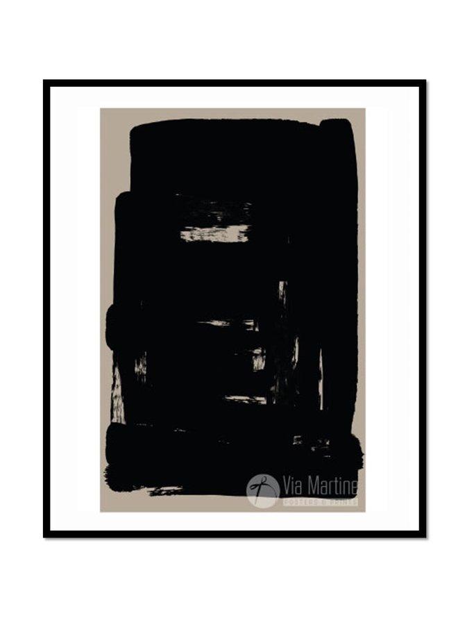 Poster Illustratie 1 Black