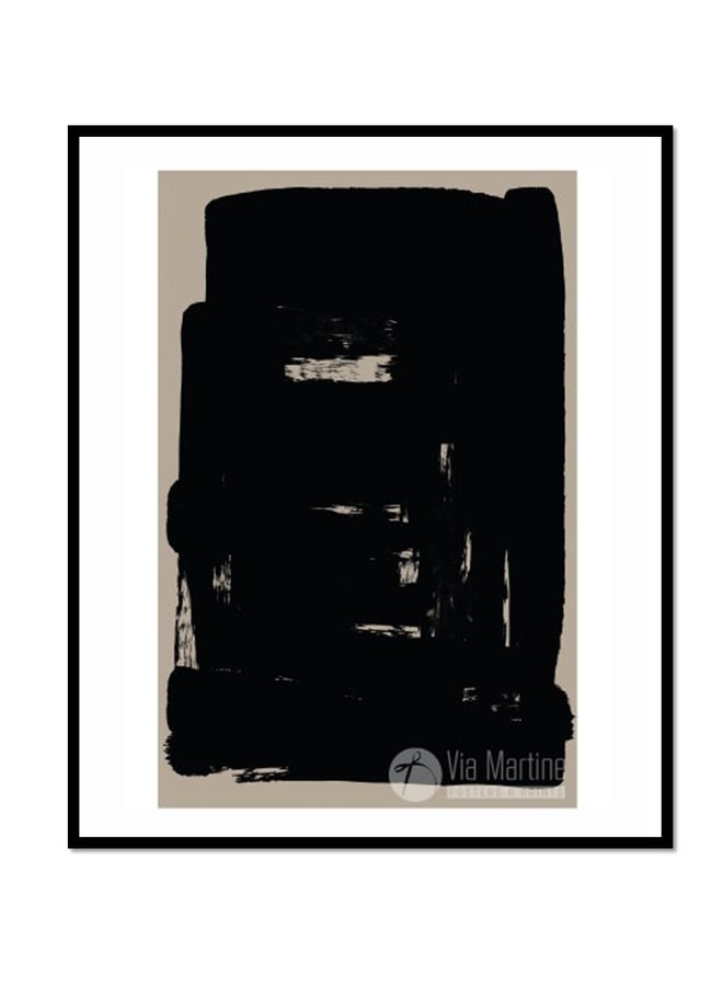 Poster Illustration 1 Black