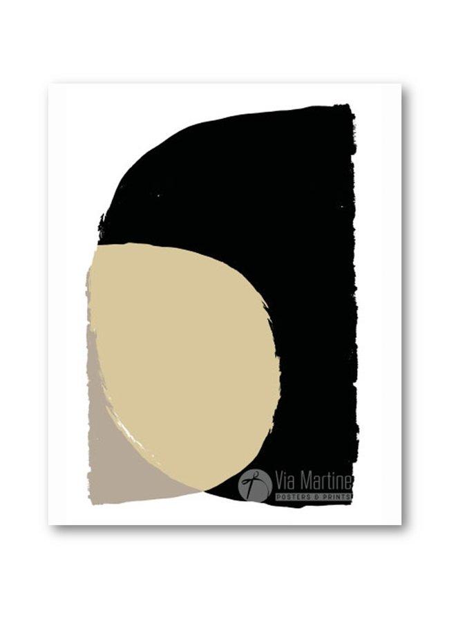 Poster Illustratie 3 Black