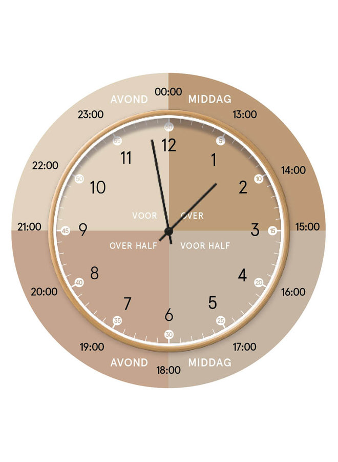 Learning clock | natural