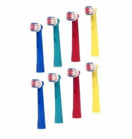 8 Opzetborstels voor kinderen voor Oral-B ®
