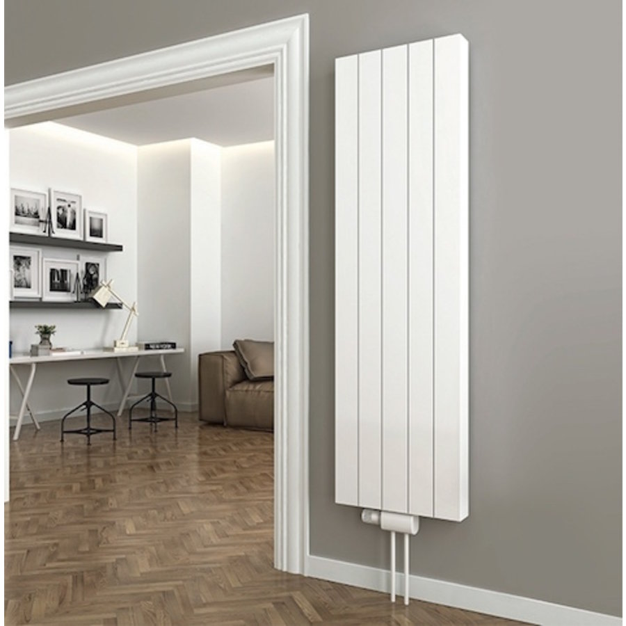 Copa Verticale radiator T20 Gestreepte Voorzijde, diverse afmetingen-1