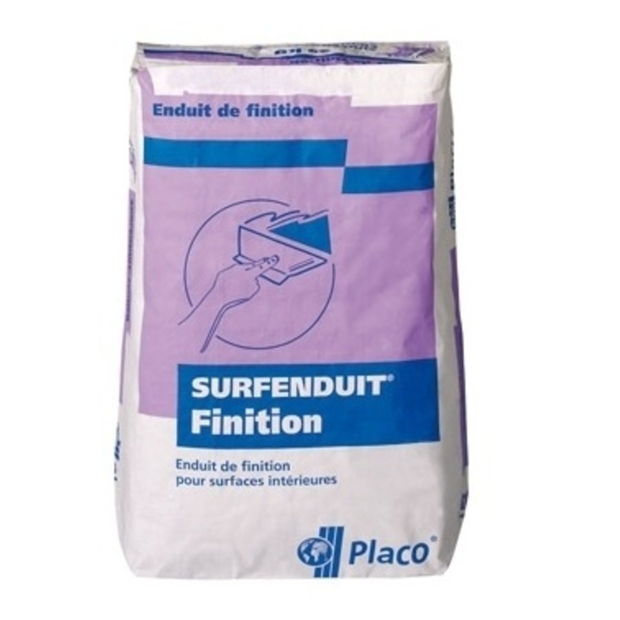 Gyproc Surfenduit Finition Dunpleister 25 KG WIT-1