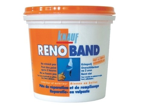 Knauf Renoband Reparatie & Vulpasta Bi/Bu 1 L WIT