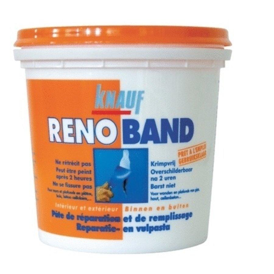 Knauf Renoband Reparatie & Vulpasta Bi/Bu 4 L WIT-1
