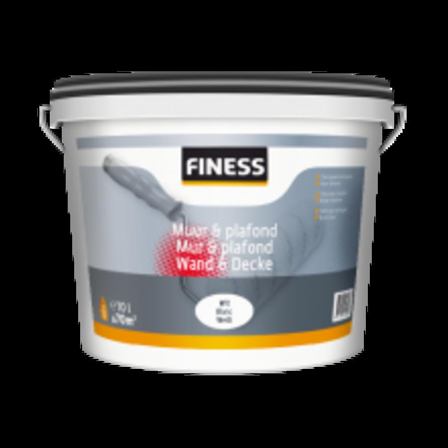 Finess Muur & Plafond 10 liter-1