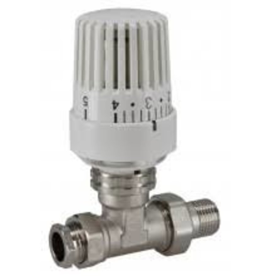 Riko thermostatische radiatorventiel 1/2''x15mm recht-1