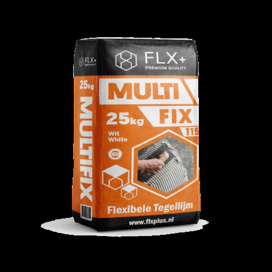 FLX+ MULTIFIX 115 FLEXIBELE TEGELLIJM C2T WIT 25KG-1