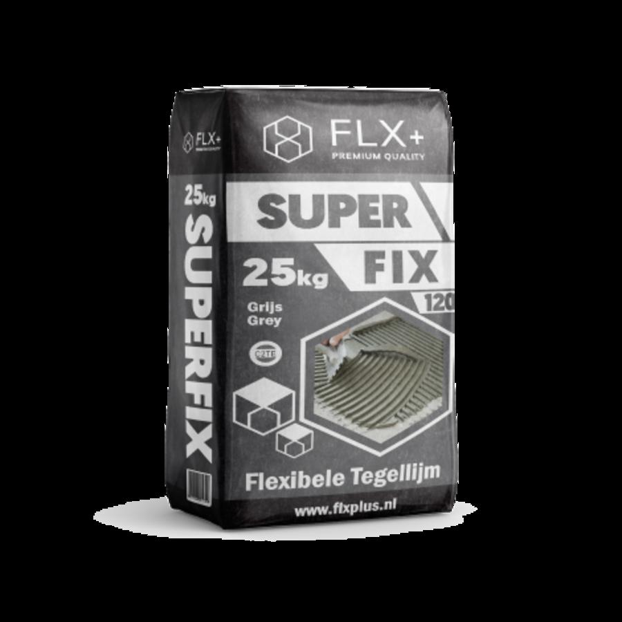 FLX+ MULTIFIX 120 FLEXIBELE TEGELLIJM C2TE GRIJS 25KG-1